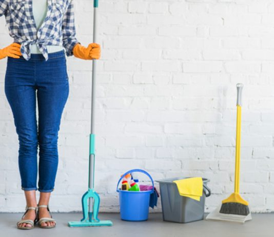 how to get rid of mold in a house